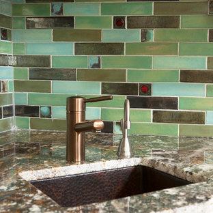 Tile Mural Kitchen Backsplash