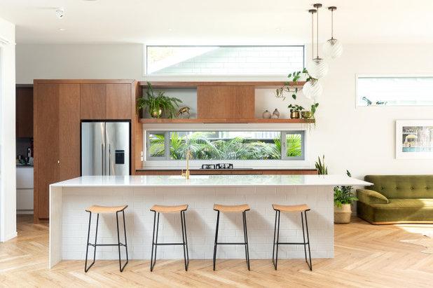 コンテンポラリー キッチン by Furze Architecture & Design