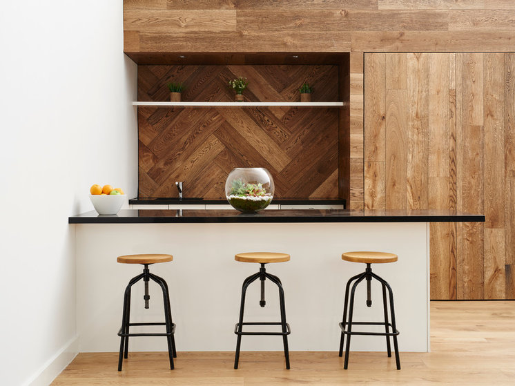 Contemporary Kitchen by Kustom Timber