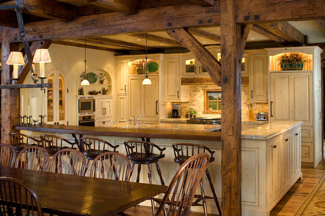 Rustic Kitchen by Robert Hawkins
