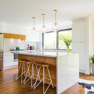 Timber White Kitchen