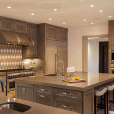 Contemporary Kitchen by Connie Anderson Photography