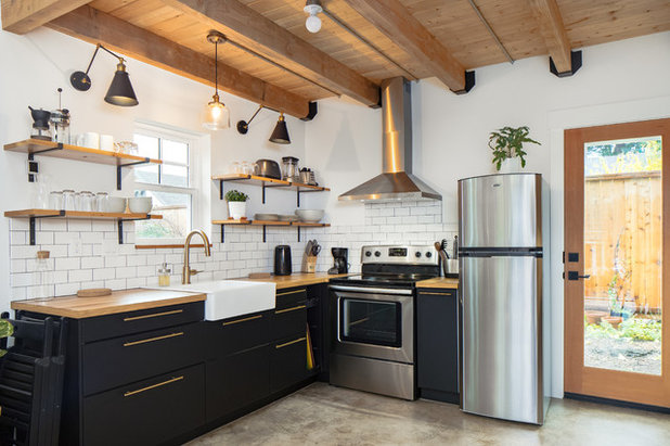 Farmhouse Kitchen by Shelter Solutions LLC - ADU Specialist