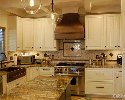 Timeless alabaster kitchen with bronze details for Alabaster kitchen cabinets