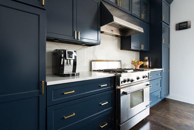 Eclectic Kitchen by Skin Interior Design
