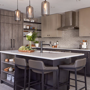 Timeless in Taupe Kitchen Remodel | Astro Design Centre | Ottawa, ON