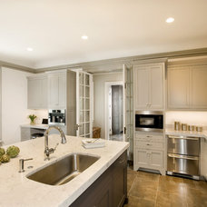 Traditional Kitchen by CW Design, LLC