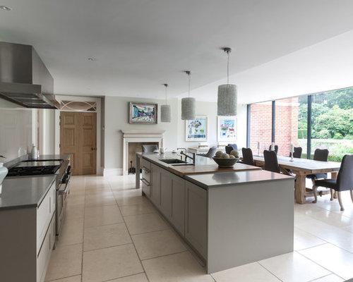 White Kitchen Grey Worktop grey worktop | houzz