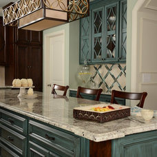 Traditional Kitchen by L&M Interior Design