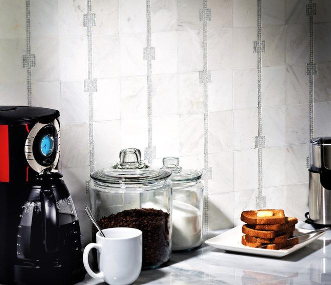 Contemporary Kitchen by Jeffrey Court, Inc.