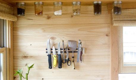 Sådan skaber du mere opbevaringsplads i et lille køkken