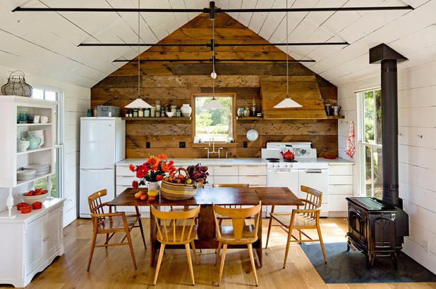 カントリー キッチン by Jessica Helgerson Interior Design