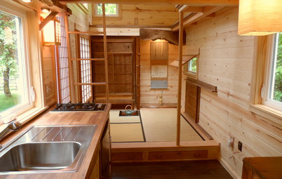 Houzz Tour: Teatime for a Tiny Portable Home in Oregon