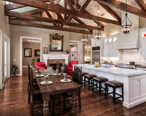 ... Kitchen Design Ideas, Remodels & Photos with Shaker Cabinets and an