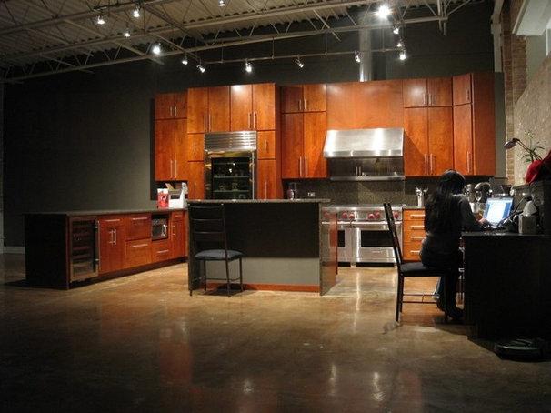 Modern Kitchen by Vera Decorative Concrete