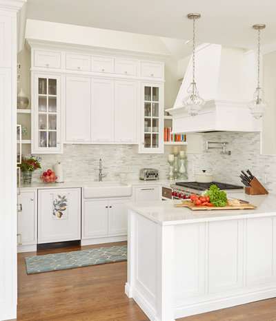 Transitional Kitchen by Casabella Interiors