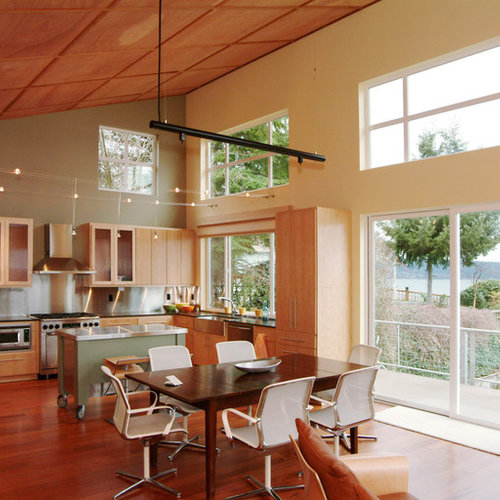 Kitchen Lighting Ideas For High Ceilings: High Ceiling Kitchen
