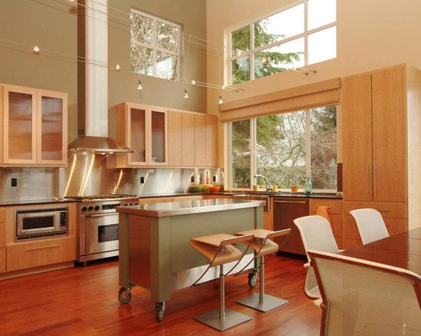 Modern Kitchen by Dan Nelson, Designs Northwest Architects