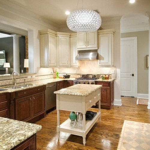 Two Tone Kitchen two tone kitchen | houzz