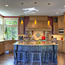 Traditional Kitchen by Laurie Lile Designs