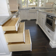 Traditional Kitchen by FITUCCI CUSTOM CABINETS