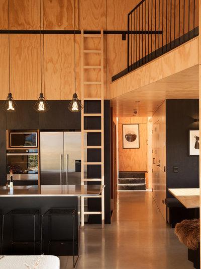 Contemporaneo Cucina by Anna-Marie Chin Architects Ltd