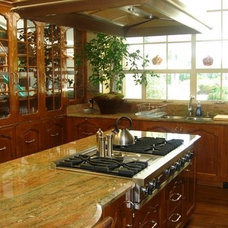Traditional Kitchen by Tomar Lampert Associates