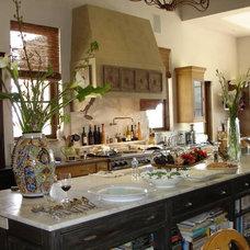 Mediterranean Kitchen by pam silleman