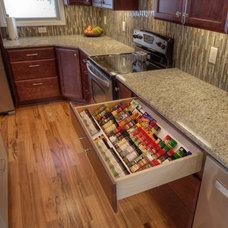 Eclectic Kitchen by Callen Construction, Inc