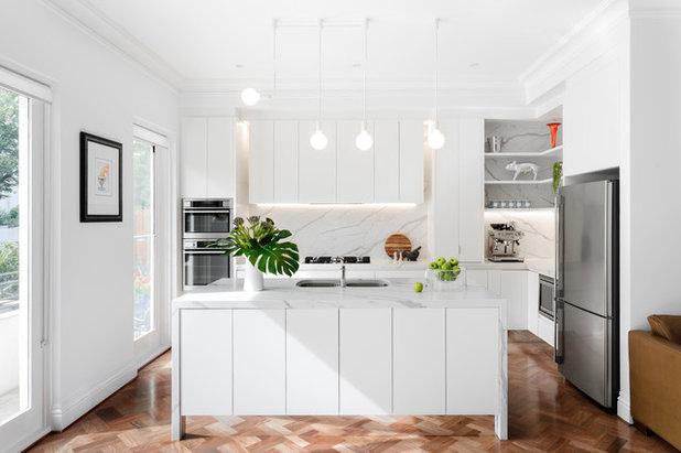 Contemporary Kitchen by Peter Schaad Design Studio