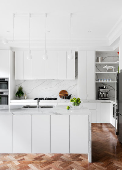 Contemporary Kitchen by Peter Schaad Design Studio