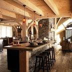 Juniper Hills Rustic Kitchen Sacramento By High