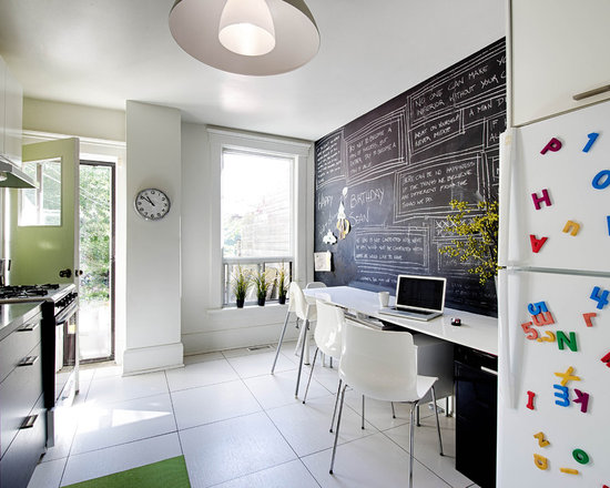 chalkboard wall | houzz