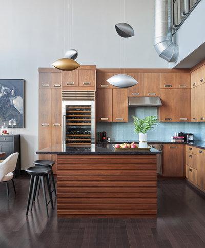 Modern Kitchen by KMSalter Design