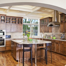 Craftsman Kitchen by Craig L Bauman Construction