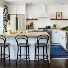 Transitional Kitchen by beth kooby design