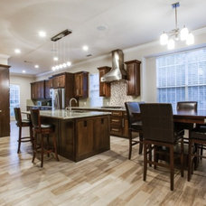 Transitional Kitchen by DFW Improved