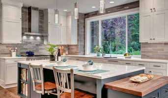 Touch of Modern in a Remodeled Redmond Kitchen