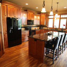 Traditional Kitchen by DEICHMAN CONSTRUCTION