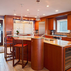 Contemporary Kitchen by Bruce Palmer Coastal Design