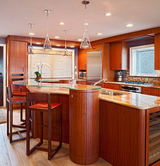 contemporary kitchen by Bruce Palmer Interior Design