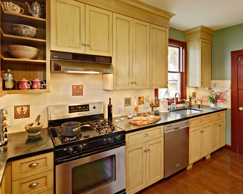 Tea-Stained Cabinets Ideas, Pictures, Remodel And Decor