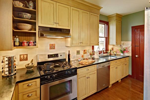 Craftsman Kitchen by Tracey Stephens Interior Design Inc