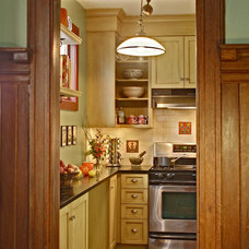 Craftsman Kitchen by Tracey Stephens Interior Design Inc