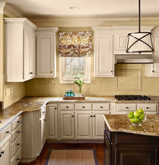 traditional kitchen by traci zeller designs
