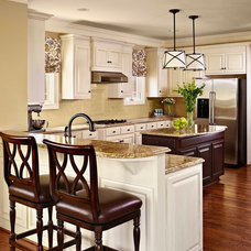 Contemporary Kitchen by traci zeller designs
