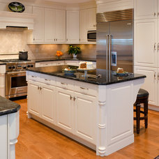 Traditional Kitchen by Custom Kitchens Inc