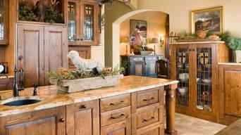 Traditional Alder Kitchen