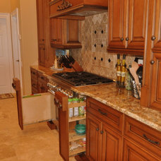 Traditional Kitchen by Artios Fine Custom Cabinetry
