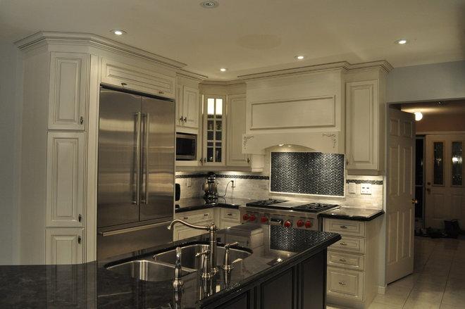 Traditional Kitchen by Isabel Beattie @ K Cabinets Oakville